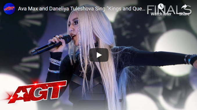 "Daneliya herself performed a duet with American singing star Ava Max on Ava's song ""Kings and Queens"